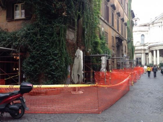 Bar della Pace cordoned off for safety - image 4