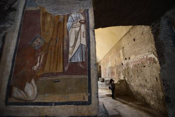 Fifth-century church in Roman Forum to reopen to public - image 1