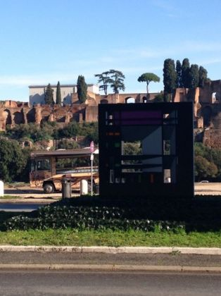 Modern sculpture at Circus Maximus raises eyebrows - image 2