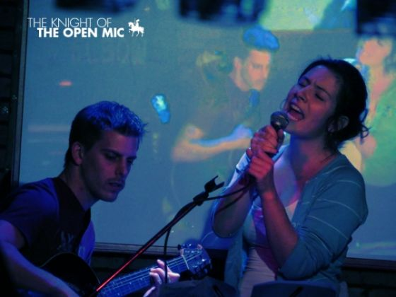 Knight of the Open Mic - image 1