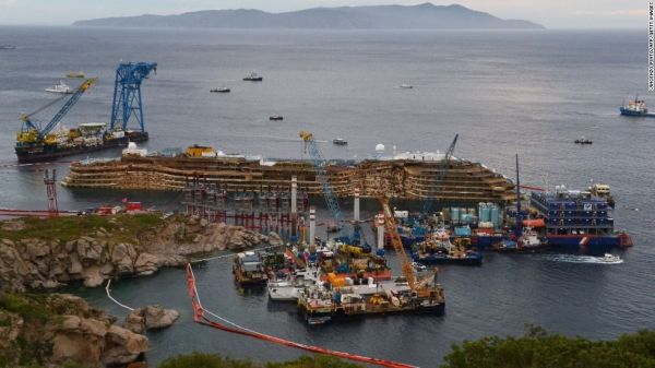 Costa Concordia shipwreck to be moved in June - image 2