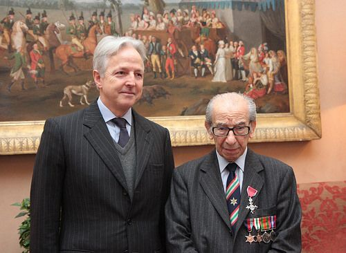 Harry Shindler receives MBE in Rome - image 2