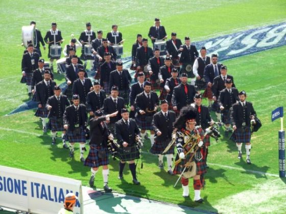 Italy-Scotland rugby game in Rome - image 2