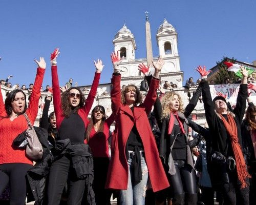 One Billion Rising in Rome - image 1
