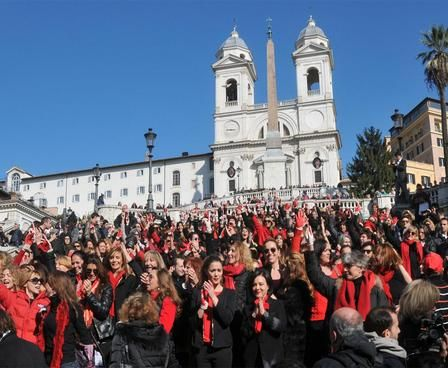 One Billion Rising in Rome - image 2
