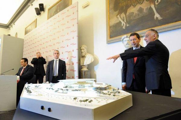 AS Roma unveils new stadium design - image 2