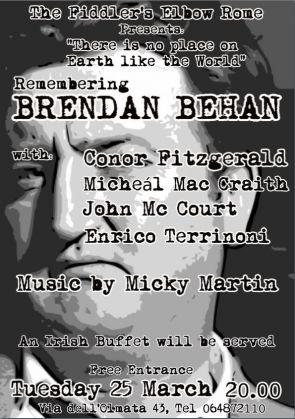 Brendan Behan remembered in Rome - image 2