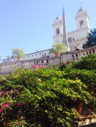 Rome's Spanish Steps in full bloom - image 1