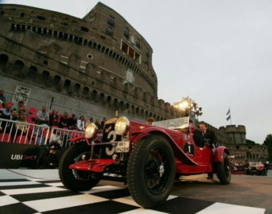 Vintage cars come to Rome - image 2