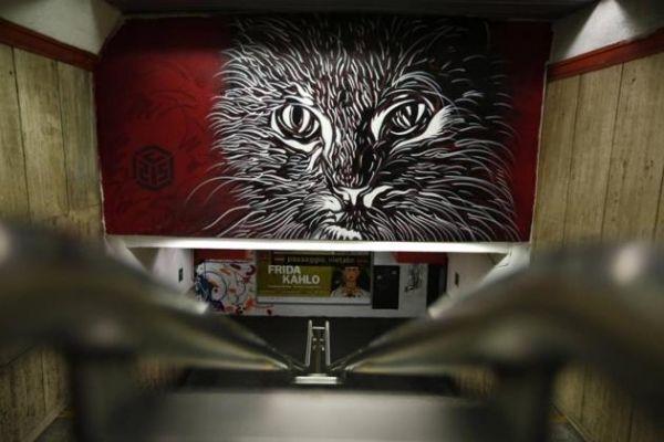 Street art in Spagna metro station - image 2