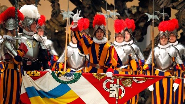 New Swiss Guards at Vatican - image 1