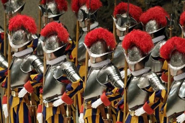 New Swiss Guards at Vatican - image 4
