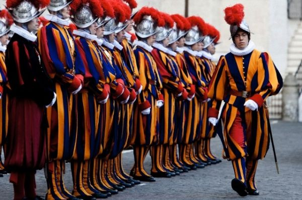 New Swiss Guards at Vatican - image 3