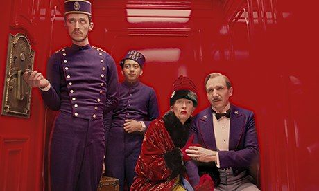 The Grand Budapest Hotel showing in Rome - image 2