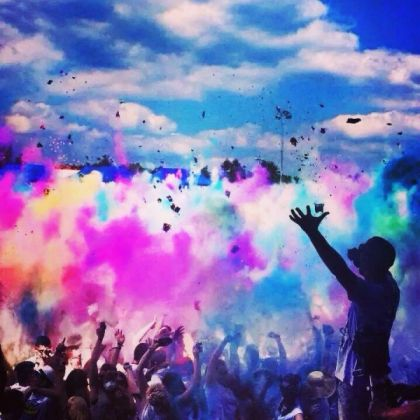 Holi Festival of Colours in Rome - image 3