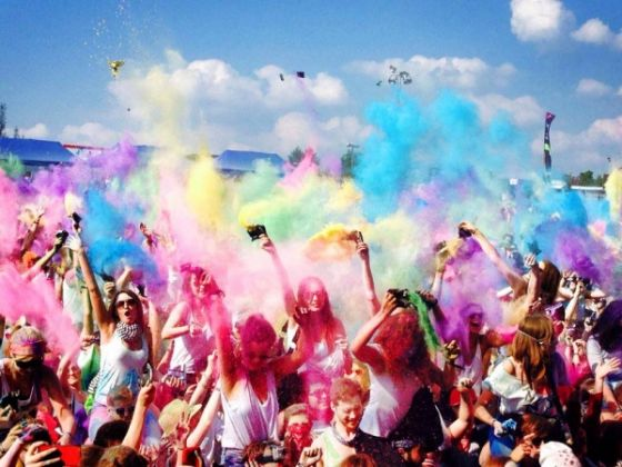 Holi Festival of Colours in Rome - image 2
