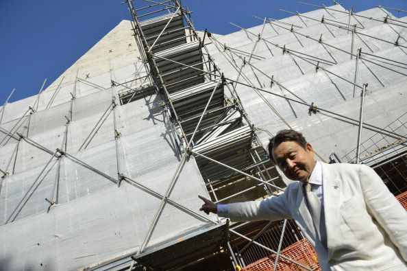 Restoration of Piramide Cestia nears completion - image 2