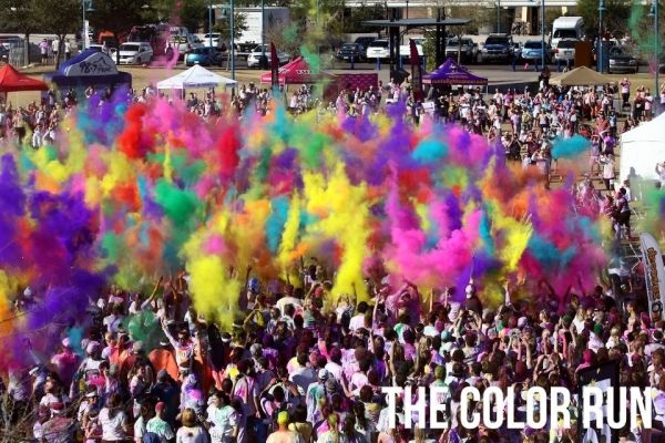 The Color Run in Rome - image 4
