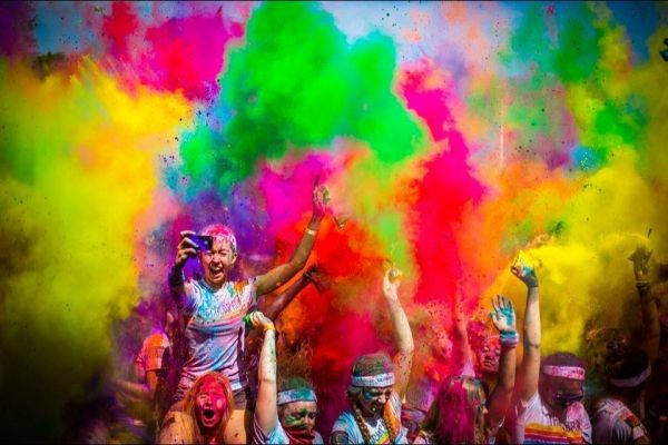 The Color Run in Rome - image 2