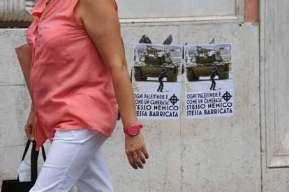 Anti-semitic graffiti in Rome - image 2