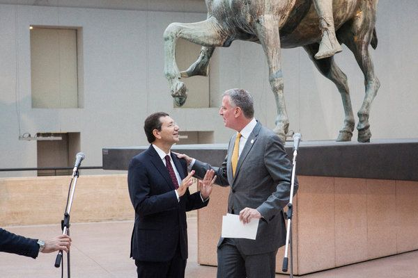 New York mayor in Rome - image 2