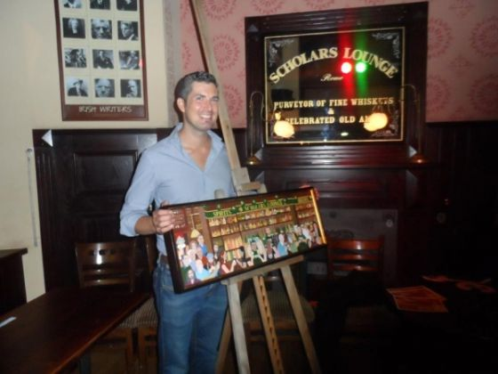 Devane painting inaugurated at Scholars Lounge - image 2