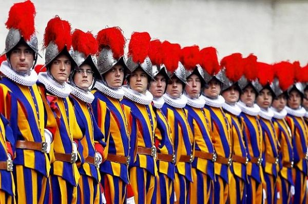 Swiss Guards launch Vatican cookbook - image 3