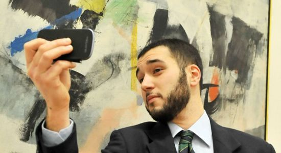 Selfies at the National Modern Art Gallery in Rome - image 2