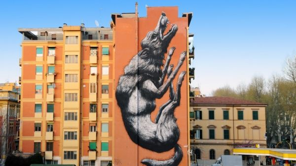 Rome mural dedicated to Daniza the bear - image 3