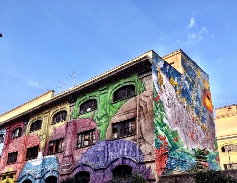 New mural in Rome's Ostiense district - image 4