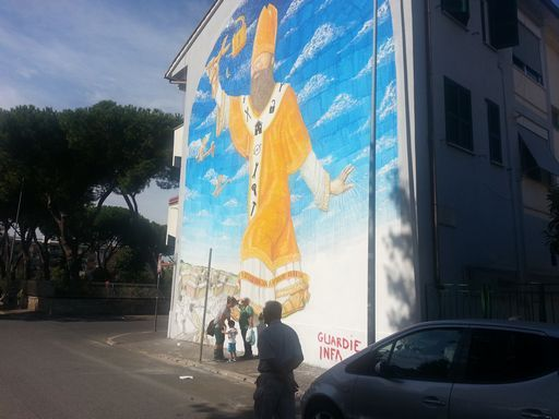 New mural in Rome's Ostiense district - image 3
