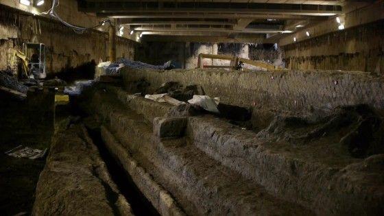 Massive ancient Roman reservoir excavated on Metro C site - image 1