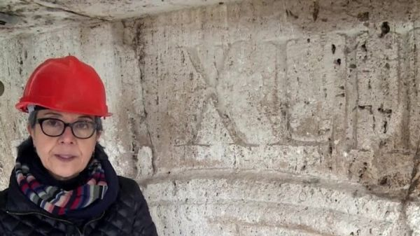 Ancient red numbers discovered on Colosseum - image 3
