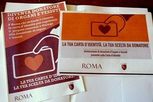 Organ donation on Rome ID cards - image 2