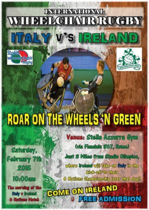 International Wheelchair Rugby in Rome - image 2