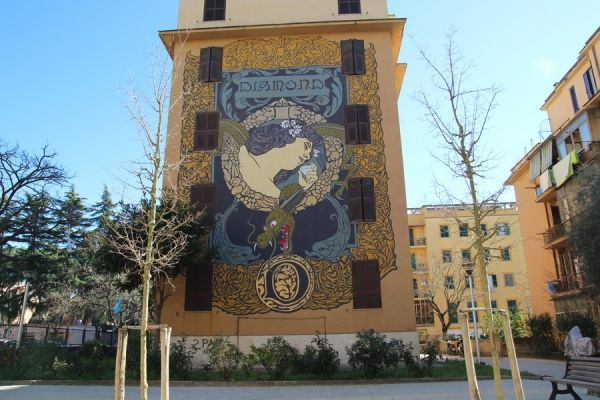 More street art in Rome - image 4