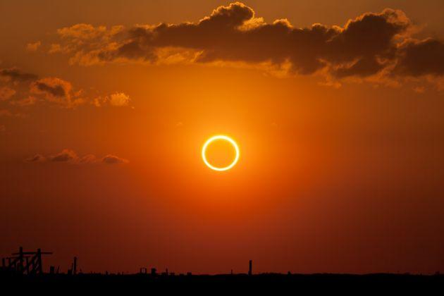 Solar eclipse in Rome - image 2