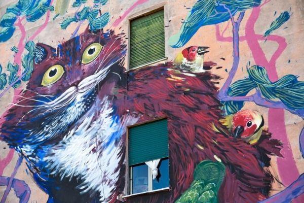 More street art in Rome - image 2