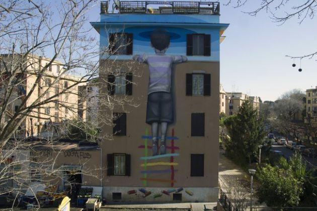 Major street art project in Rome - image 2