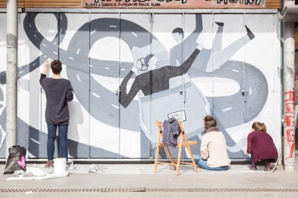 More street art in Rome - image 1