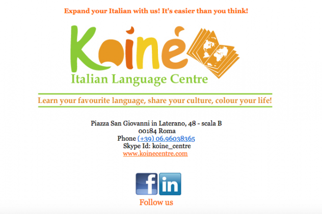 Koiné – Italian Language Centre in Rome - image 2
