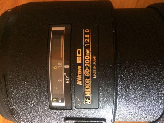 Nikon 80-200mm 2.8 LENS AF - image 3