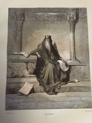 Ancient Bible with 230 original Gustave Doré illustration (Gospel too) - ed. 1869 - image 5