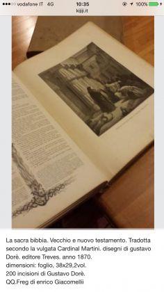 Ancient Bible with 230 original Gustave Doré illustration (Gospel too) - ed. 1869 - image 6