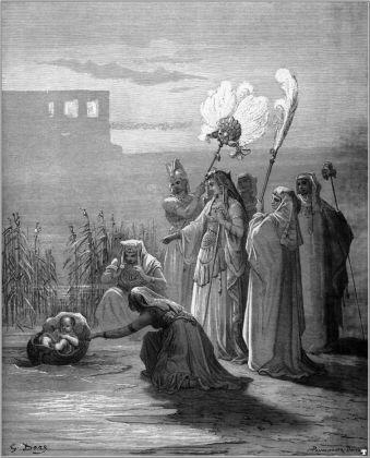 Ancient Bible with 230 original Gustave Doré illustration (Gospel too) - ed. 1869 - image 7