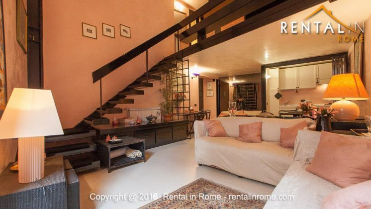 LONG TERM SPECIAL PRICE-FURNISHED LOFT IN NAVONA-ALL INCLUSIVE - image 3