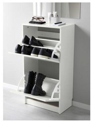 Shoe Rack - Bissa IKEA White - image 4
