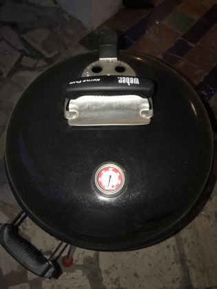 WEBER ORIGINAL KETTLE PLUS CHARCOAL BARBECUE - image 3