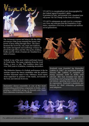 VIVARTA - A Kathak Dance Performance to celebrate 70  years of India-Italy Diplomatic relations - image 3