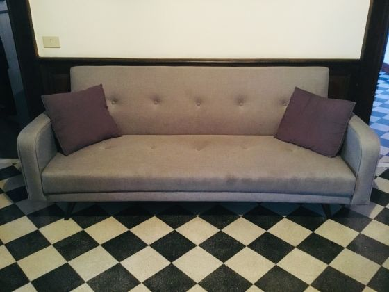 Grey Sleeper Couch for Sale - image 1